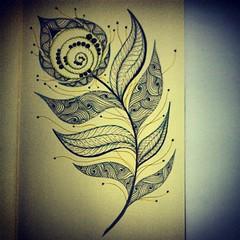 day 104 (Nadik25) Tags: art moleskine drawing doodle zen meditation 365 doodling zentangle zendoodling instagram zenstagram