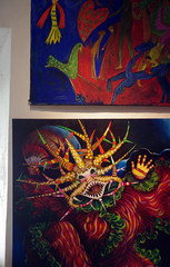 Vejigantes (heidybpr) Tags: art colors painting puerto 50mm pentax puertorico rico pentaxkx vejigante