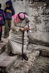 | Jordanian history ~ (osama hassan) Tags: old travel portrait bw man history graphic amman jordan jerash ajloun  arbs      550