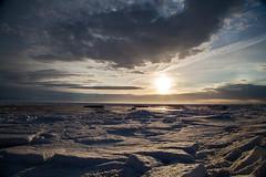 Winter Landscape-29.jpg (LNScoaster2011) Tags: ocean winter sunset sea sky cloud sun mer snow ice landscape soleil hiver coucher ciel neige nuage paysage glace