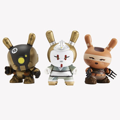 Post Apocalypse Dunny Series (huckgee) Tags: apocalypse huck gee skullhead dunny postapocalypse klidrobot