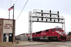 Another I-NeRD Encounter (The Mastadon) Tags: road railroad chicago train illinois midwest rail railway trains il transportation locomotive railroads chicagoland douchebag flatlander midwestern
