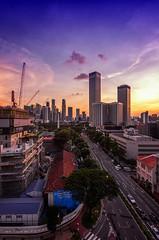 Sunset @ Shaw Tower (C.K.X) Tags: sunset office singapore cityscape cbd shawtower sigma1020 pentaxk5 enchantingsingapore
