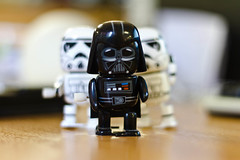 The force is with you always (sunny_hels) Tags: canon toys starwars stormtrooper darthvader figures playful canon50mm stormie niftyfifty canon7d