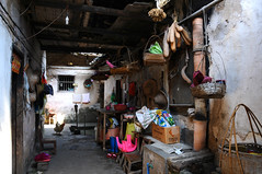 Village  (Melinda ^..^) Tags: life china door houses light shadow people heritage home window rural countryside village path live traditional culture mel shade guangdong melinda grocery folks   villagehouses  lianping chanmelmel