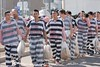 Maricopa County Jail (Bear Truck Hot) Tags: county hot uniform police prison cop jail corrections policia prisoner inmate restraint