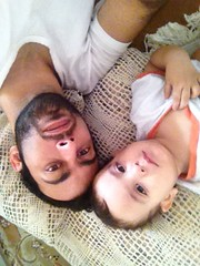 Amir and me (amir.sarya) Tags: son amir childeren fatherson qom uploaded:by=flickrmobile flickriosapp:filter=nofilter