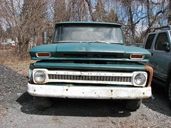A MID 1960's CHEVY C-10 IN MARCH 2013 (richie 59) Tags: trees usa chevrolet america truck outside us spring rust automobile gm unitedstates rusty pickup upstate pickuptruck headlights upstateny grill faded chevy rusted upstatenewyork vehicle newyorkstate oldtruck automobiles nystate rustytruck frontend generalmotors hudsonvalley chevytruck 2door motorvehicles fadedpaint oldchevytruck chevrolettruck c10 ulstercounty oldchevy rustyoldtruck twodoor motorvehicle oldpickuptruck americantruck antiquetruck midhudsonvalley chevyc10 2013 chevytrucks ulstercountyny gmtruck rustychevy 1960struck ustruck oldrustytruck 2010s rustychevytruck americanpickuptruck richie59 march2013 townofsaugertiesny townofsaugerties march242013