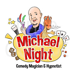 Michael Night Cartoon Mascot (hellographic) Tags: logo design cartoon mascot identity brand hellographic fiverr