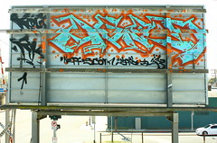 Agod (MR. NIC GUY ^.^) Tags: california urban streetart art landscape graffiti losangeles billboard rk graffitiart agod kog neff scom dfied