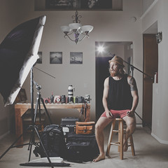 my stash. (ted craig) Tags: light portrait self 50mm equipment 5d 365 strobe mkii 2013 tedcraigphotography