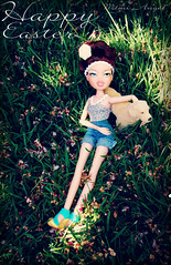 Happy Easter! (Mimi_Angel') Tags: school dog west easter outside photo back phoebe to bratz jenessa 2013