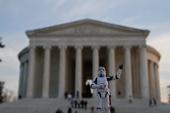 Kevin at The Jefferson Memorial (raelala) Tags: travel toys actionfigure washingtondc dc starwars districtofcolumbia memorial stormtrooper mlk jeffersonmemorial capitolhill thomasjefferson thecapitol thomasjeffersonmemorial 2013 ustravel canoneos7d rachelgreene canon7d january2011 kevintheretiredstormtrooper thatlalagirlcom thatlalagirl