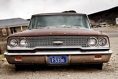 1963 Ford Galaxie (Curtis Gregory Perry) Tags: ford car nikon automobile nevada 63 galaxie 1963 goldfield     fav10  d80