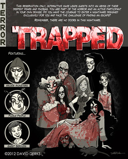 Trapped - Knott's Scary Farm