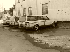 Volvo 245 (petrusko.rm) Tags: car lumix volvo junk panasonic crap dmc 245 fz200
