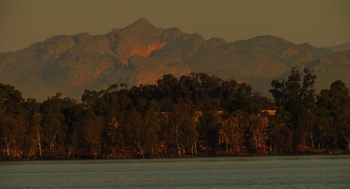 Grampians Over Green Lake