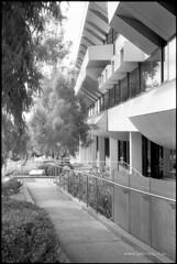 Building LA (Adam Dimech) Tags: building film college architecture campus iso200 university australia melbourne victoria uni burwood sfx deakin ilfordsfx200 deakinuniversity buildingla