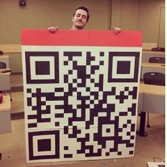 "Scan our mega QR code to unleash our latest promo! • <a style=""font-size:0.8em;"" href=""http://www.flickr.com/photos/86277824@N05/8643452930/"" target=""_blank"">View on Flickr</a>"