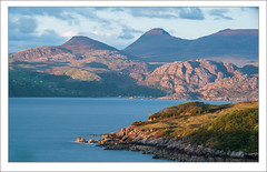 Beinn Alligin Sunset (Maciej - landscape.lu) Tags: mountain mountains landscape scotland highlands sony highlander scottish highland filter land torridon mountainscape 70200mmf28g singhray sonydslra900 maciejbmarkiewicz varintrio