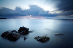 Rain Clouds Approaching [Explored] (Petri Karvonen) Tags: longexposure sunset lake nature water rain rock clouds zeiss suomi finland landscape eos rocks time 21 10 hard filter lee edge nd he filters 06 grad f28 maisema ze graduated density stops neutral 21mm carlzeiss lakescape karttula gnd canoneos5d photospecs lintuniemi distagont2821 bigstopper distagon2128ze virmasvesi carlzeissdistagont21mmf28ze