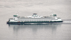 #7721 Washington State Ferry from Space Needle (Nemo's great uncle) Tags: seattle sea ferry washington wa pugetsound  washingtonstateferry