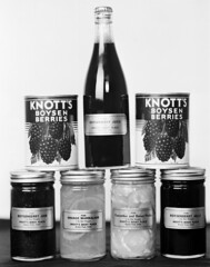 Knott's Berry Place products, circa 1930s (Orange County Archives) Tags: california history historical southerncalifornia orangecounty buenapark knottsberryfarm boysenberries walterknott cordeliaknott orangecountyarchives orangecountyhistory knottsberryplace
