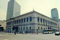 Boston Public Library, 1991