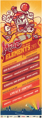 more Elements 2013/Plakat (bkopf) Tags: basketball poster graffiti bmx dj mc more elements hiphop rap plakat uckermark templin streetball 2013 bkopfone bkopf jugendkella