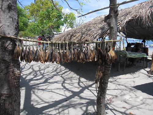 Dried fish for sale in Atauro Island, Timor-Leste. Photo by Jharendu Pant, 2010.