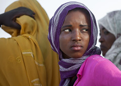 Sudanese Young Woman, Khartoum, Sudan (Eric Lafforgue) Tags: africa portrait horizontal outdoors photography day veiled veil northafrica soedan sudan womenonly khartoum lookingaway soudan 3people northernafrica traditionalclothing realpeople threepeople traveldestinations colorimage headandshoulder  szudn sudo  northernsudan northsudan      xuan ert8376