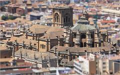 Cathdrale de l'Incarnation, depuis l'Alcazaba de l'Alhambra, Granada, Andalucia, Espana (claude lina) Tags: claudelina espana spain espagne andalucia andalousie granada grenade ville town cathdrale cathdraledelincarnationgranada