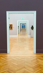 In the museum (JoeGarity) Tags: museum legionofhonor sanfrancisco art monet doors
