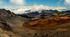 Haleakala Crater, Maui (gacrichards) Tags: blue red green yellow landscape 50mm volcano hawaii nationalpark maui haleakala d750 daytime nikkor haleakele haleakale halaekela haleakeele
