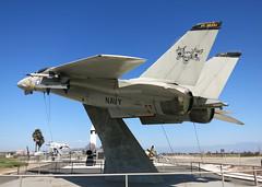 F-14 Tomcat,Point Mugu. (powerslave16v) Tags: f14 tomcat pointmugu missile park grumman usnavy california