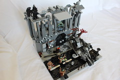 Ambushed_7 (TH3_J03Y_G) Tags: road shadow urban black broken angel death lego sniper sector mansion rogue custom destroyed ambushed wanderer ogre slums minifigure apoc moc postapocalyptic xerith
