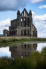 reflection (pamelaadam) Tags: geolat54488335 geolon0607873 whitby engerlandshire building kirk abbey whitbyabbey faith spirituality august summer 2016 holiday2016 digital fotolog thebiggestgroup