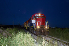 TPW 3878 west (BSTPWRAIL) Tags: tpw toledo peoria western railroad railway road way rail america railamerica cruger illinois local grain extra train gp38 locomotive gw genesee wyoming