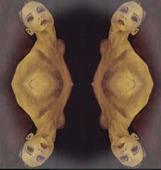 2016-08-23 symmetrical French nude paintings 1 (april-mo) Tags: french nu nude painting symmetry symmetrical collage art woman womanportrait portrait