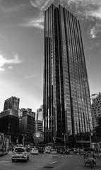 Trump Tower NY (Kar|ino) Tags: ny new york usa nikon 1855 carlo renatti trump tower skyscraper sky urban street city bw black white