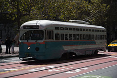 San Francisco Streetcar (Hawkeye2011) Tags: sanfrancisco usa 2016 california transport railway pcc streetcar muni