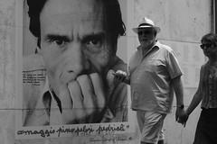 Via di Donna Olimpia, Roma (AlexBlues) Tags: roma rome street monteverde monochrome pasolini fujifilmxe1 planar1750