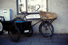 Peace in the World (CoreForce) Tags: bicycle tricycle roughbuild brennholz reykjavk hfuborgarsvi island recycle