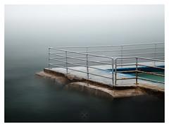 Last Barrier (picturedevon.co.uk) Tags: brixham shoalstonepool torbay englishriviera devon fineartphotography seascape seamist mist minimalist coast longexposure hightide swimmingpool fog water waves