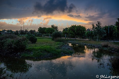 tormentas que anuncian el otoo (josmanmelilla) Tags: nubes melilla otoo parque espaa agua lluvia