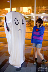 Undertale 40 (MDA Cosplay Photography) Tags: undertale frisk chara napstablook asriel cosplay costume photoshoot otakuthon 2016 montreal quebec canada undertalecosplay fun