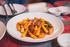Korean Rice Cakes (reubenteo) Tags: northkorea dprk food lunch dinner steamboat kimjongun kimjongil kimilsung korea asia delicacies