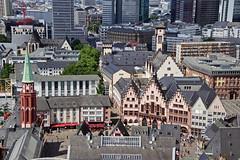 Blick vom Frankfurter Dom (Magdeburg) Tags: frankfurter dom frankfurterdom blick vom blickvomfrankfurterdom blickfrankfurterdom view from frankfurt cathedral viewfromfrankfurtcathedral frankfurtcathedral rathaus der rmer frankfurtammain am main