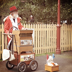 the Organ Grinder. (misty1925) Tags: organ organgrinder belgrave puffingbilly victoria dandenongranges