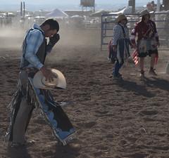 defeat (jabagosus) Tags: cowboy rodeo bronc rider sonoita arizona southwest clown dirt dust d5500